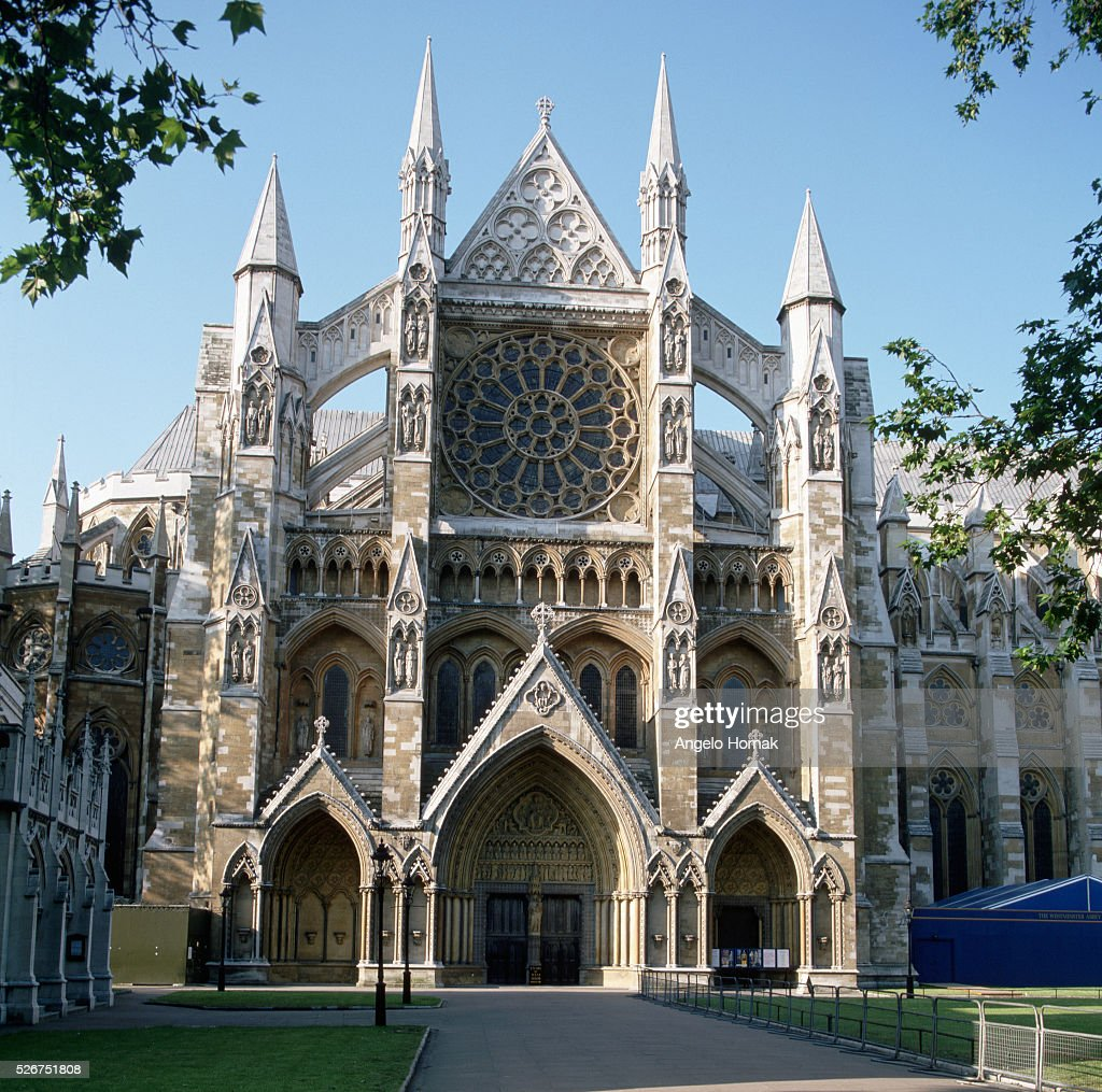 Westminster Abbey North Front : News Photo