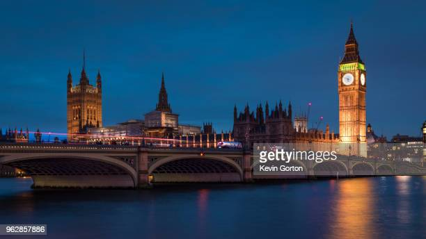 westminster and big ben - river thames stock pictures, royalty-free photos & images