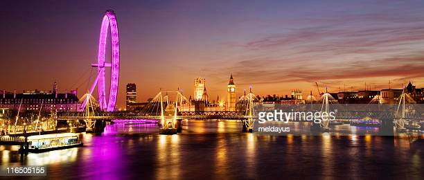 westminster (london) at sunset - greater london stock pictures, royalty-free photos & images
