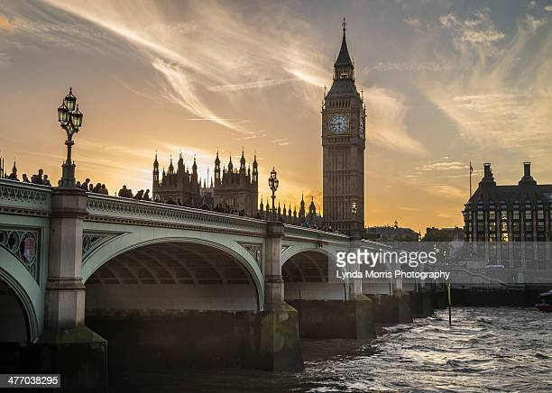 westminster bridge and big ben, london - westminster bridge stock pictures, royalty-free photos & images