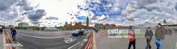 Westminster Bridge - Panorama