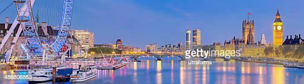 Westminster Bridge panorama