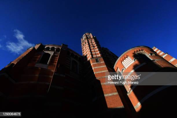 westminster cathedral - howard pugh stock pictures, royalty-free photos & images