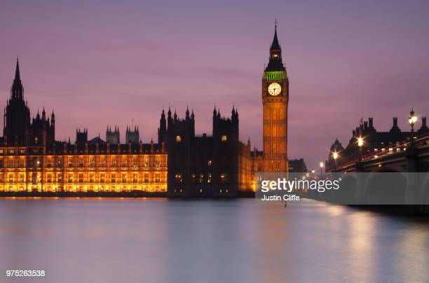 westminster evening - justin cliffe stock pictures, royalty-free photos & images