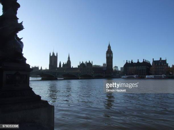 westminster from old county hall - hackett stock photos and pictures