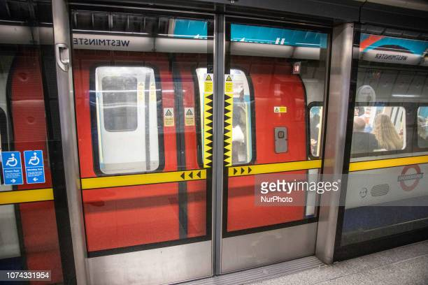Westminster station in London, an underground tube station in the City of Westminster, London, UK serving the Circle, District and Jubilee lines. It...