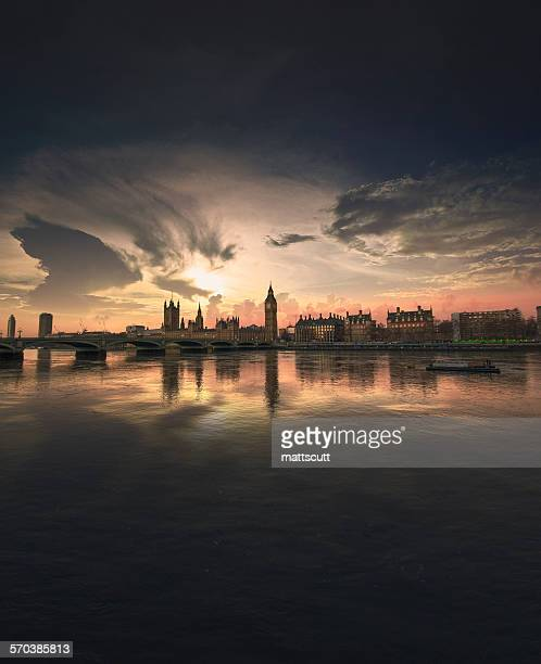 westminster sunset, london, uk - mattscutt stock pictures, royalty-free photos & images