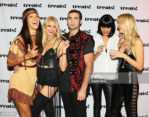 Weston Cage attends Trick or treats The 6th Annual treats Magazine Halloween Party Sponsored by Absolut Elyx on October 29 2016 in Los Angeles...