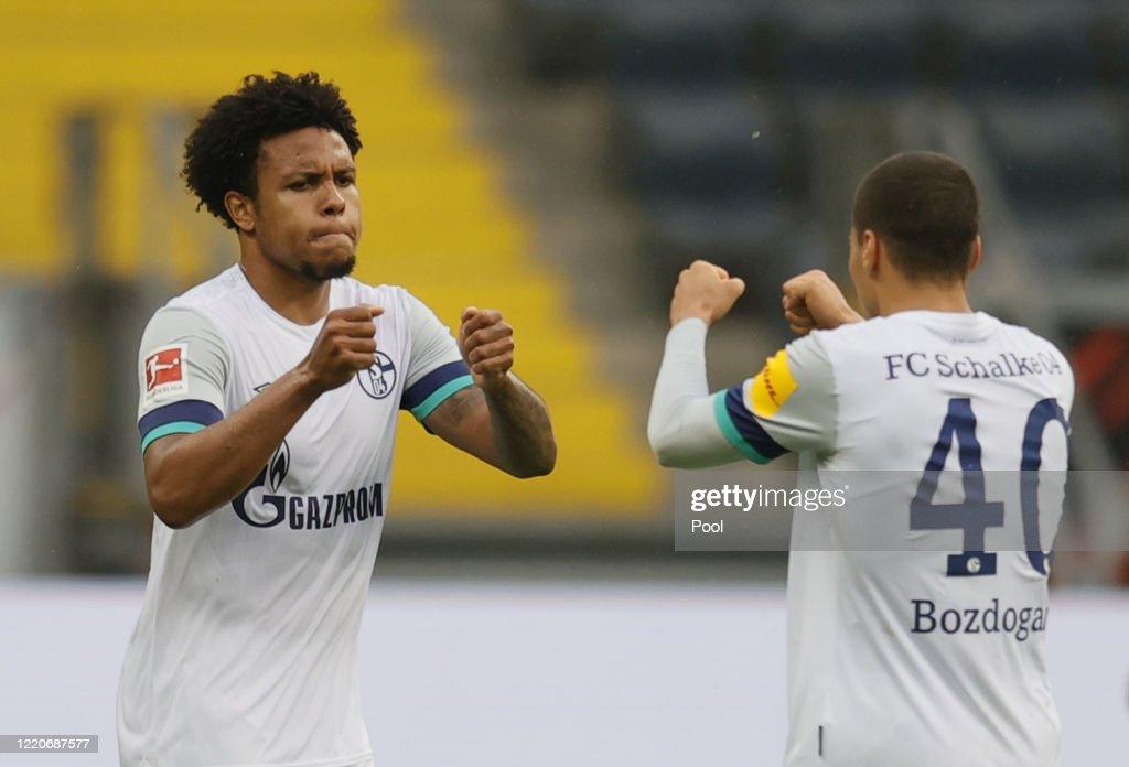 Eintracht Frankfurt v FC Schalke 04 - Bundesliga : Nachrichtenfoto
