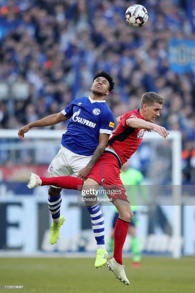 DEU: FC Schalke 04 v Sport-Club Freiburg - Bundesliga