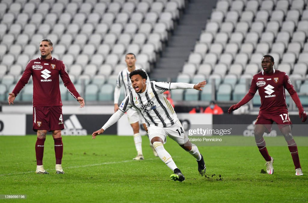 Weston Mckennie Of Juventus Celebrates After Scoring His Team S First News Photo Getty Images
