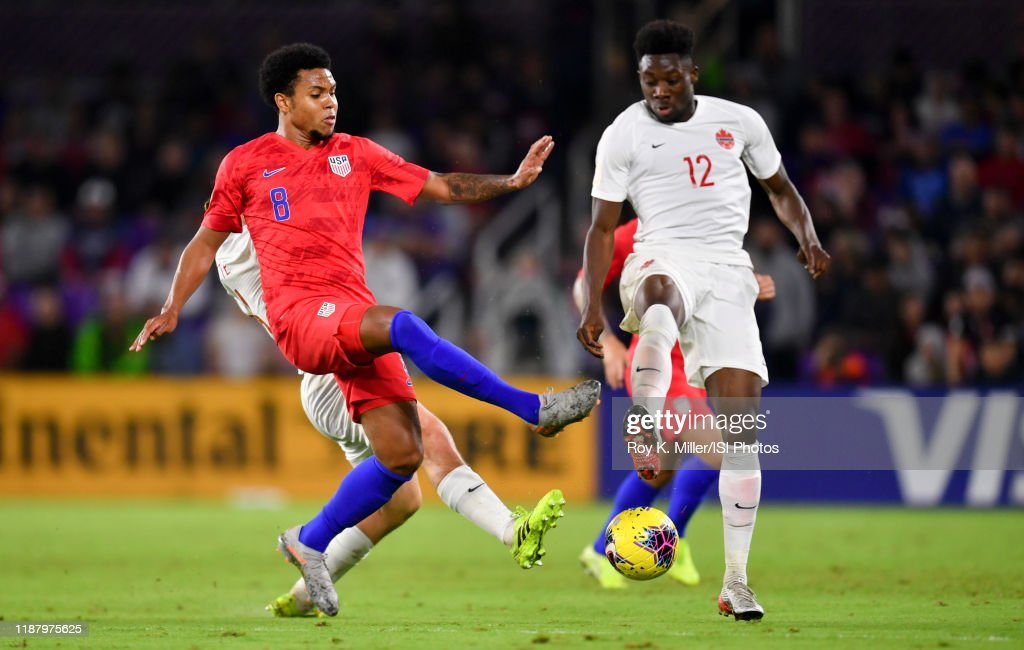 Canada v United States - CONCACAF Nations League : News Photo
