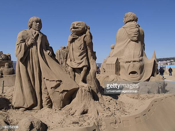 Weston Sand Sculpture Festival WestonSuperMare Somerset UK