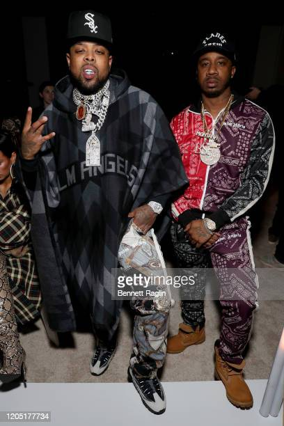 Westside Gunn and Benny the Butcher attend Palm Angels: The Shows during New York Fashion Week February 09, 2020 in New York City.
