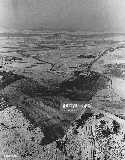 FEB 16 1968 FEB 28 1968 FEB 29 1968 Westward Ho The Interstate Highway Interstate 70 construction pushes westward over the hogback just southwest of...