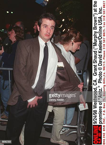 Westwood CA Grant Shaud at the premiere of Antz