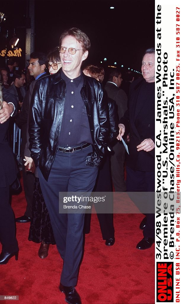 Westwood, CA  James Woods at the premiere of 'U S  Marshals ' News