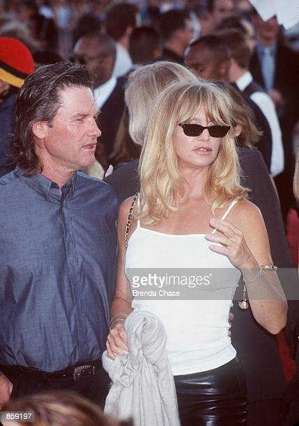 Westwood CA Kurt Russell and Goldie Hawn at the premiere of Eyes Wide Shut Photo by Brenda Chase/Online USA Inc