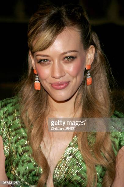 Westwood Hilary Duff attends The 20th Century Fox World Premiere of 'Cheaper By The Dozen 2' held at The Mann Village Theatres in Westwood California...