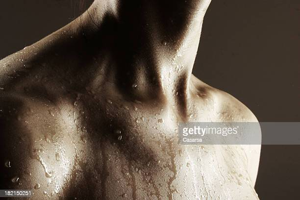 wet 1 - the human body stock pictures, royalty-free photos & images