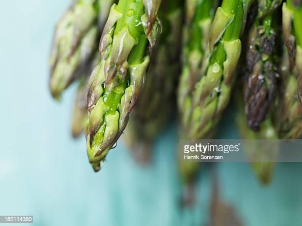 Wet asparagus
