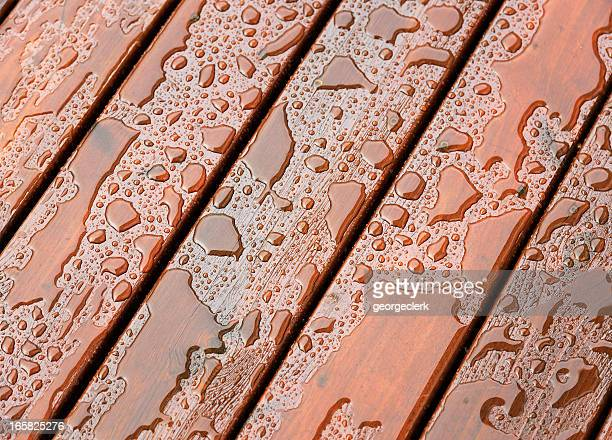 Wet Outdoor Decking Surface