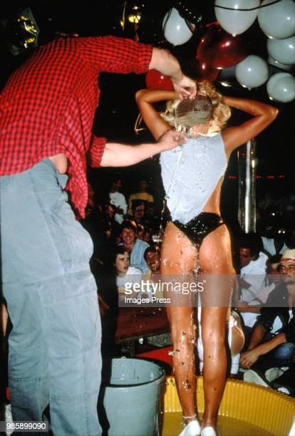 Wet Tshirt Contest circa 1987 in New York