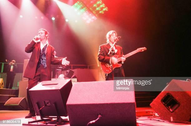 Wet Wet Wet music group in concert NEC Birmingham 29th June 1994 Lead singer Marti Pellow