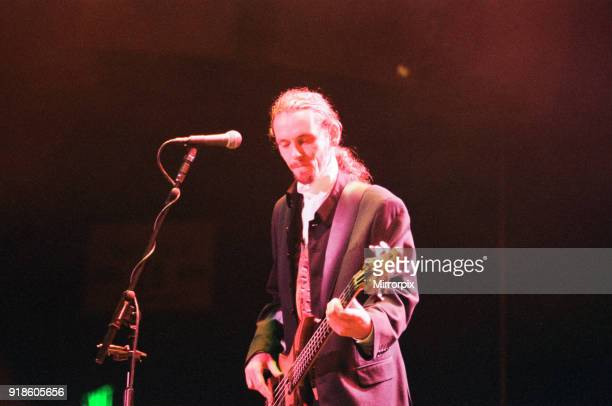 Wet Wet Wet, music group, in concert, NEC, Birmingham, 29th June 1994.