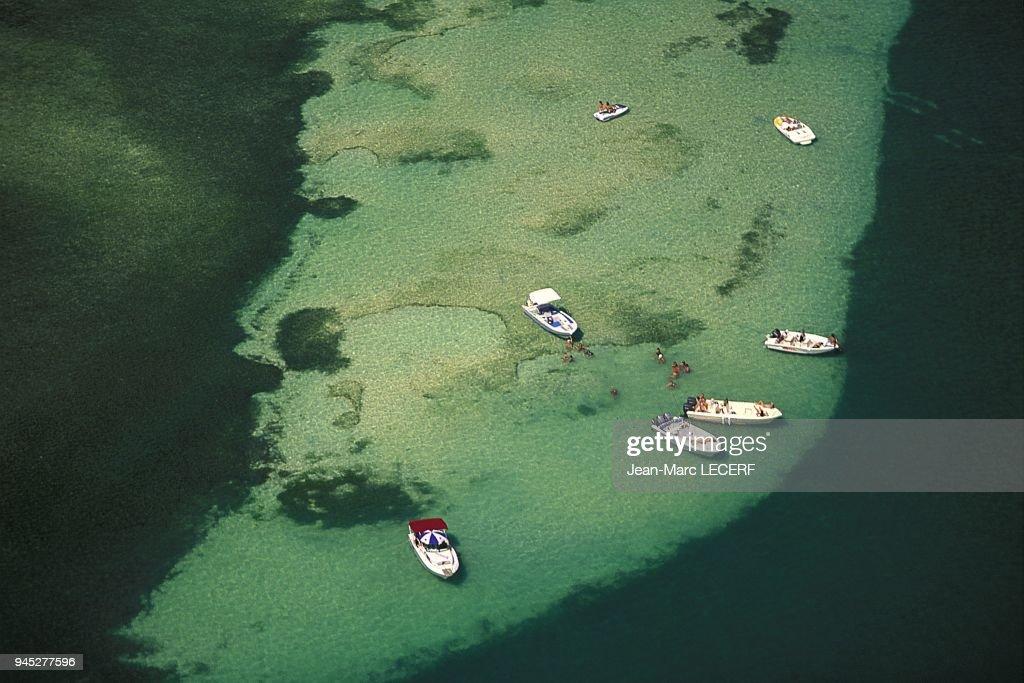Wets Indies Martinique Landscape Aerial View Islet Baignoire De