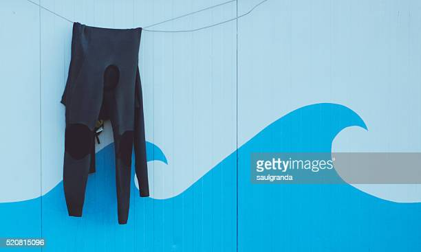 Wetsuit drying
