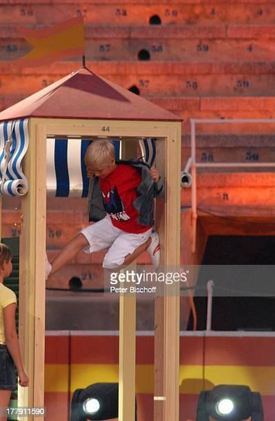 WettKanditaten Generalprobe zur ZDFShow 'Wetten dass' Stierkampfarena 'Coliseo Balear' Palma de Mallorca Insel Mallorca Balearen Spanien Europa...