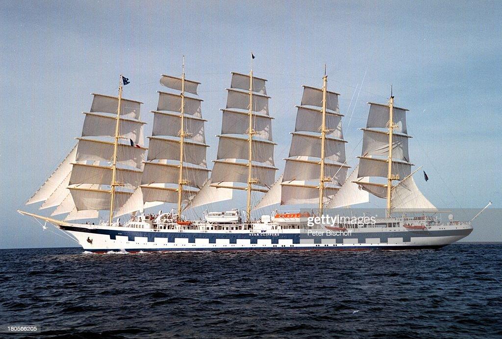 Segelschiffe auf dem meer  Wettsegeln, Karibik, Segelschiff 'Royal;Clipper', Schiff, Schiff ...