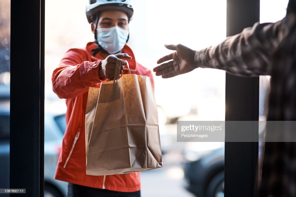 We've got you covered during lockdown : Stock Photo