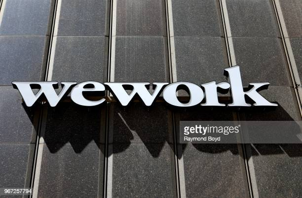 WeWork Detroit in Detroit, Michigan on May 25, 2018.