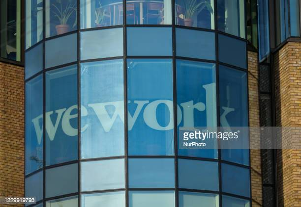 WeWork offices in Dublin. WeWork is an American company that provides shared workspaces for technology startup, subculture communities, and services...