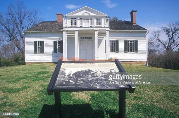 Wexford Lodge at Vicksburg National Military Park Vicksburg Mississippi honoring southern dead from Civil War