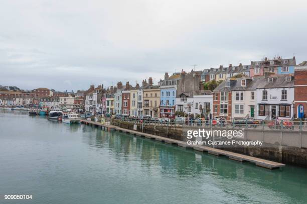 weymouth harbour - weymouth dorset stock pictures, royalty-free photos & images