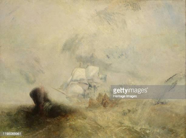 Whalers circa 1845 Artist JMW Turner
