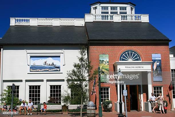 museu da pesca de baleias, nuntacket - pesca de baleia - fotografias e filmes do acervo