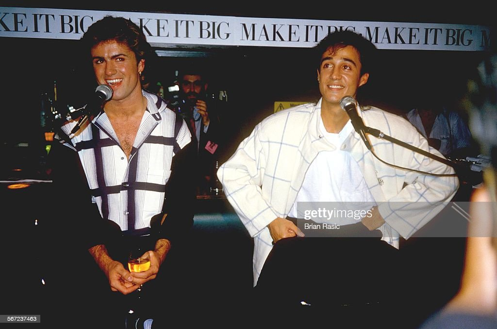 Wham- George Michael And Andrew Ridgeley : News Photo