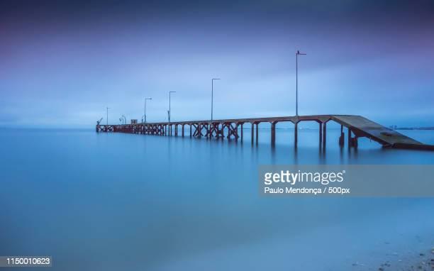 wharfage - pontoon bridge stock pictures, royalty-free photos & images