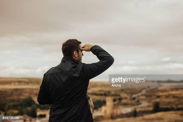 esta é uma bela vista - distante - fotografias e filmes do acervo