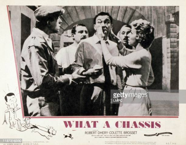 What A Chassis, , US lobbycard, Robert Dhery , Colette Brosset , 1961.
