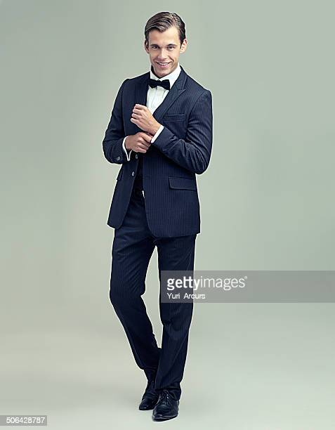 what a dapper gentleman - bow tie stock pictures, royalty-free photos & images