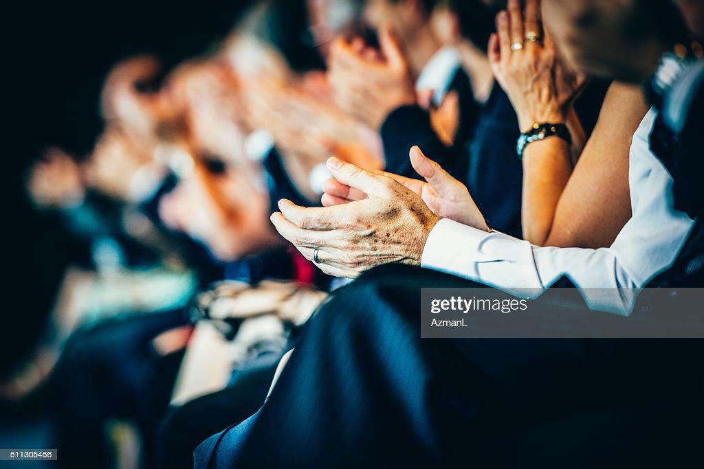 Was für eine großartige Rede! : Stock-Foto