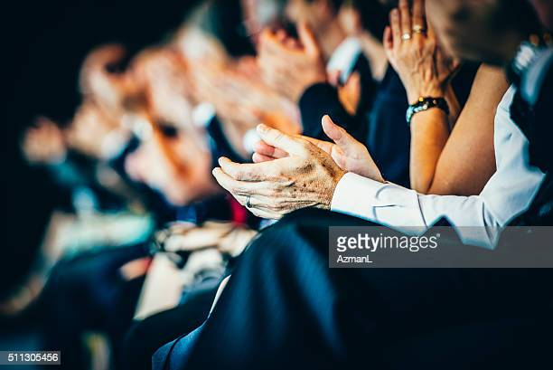 what a great speech! - conference stock pictures, royalty-free photos & images