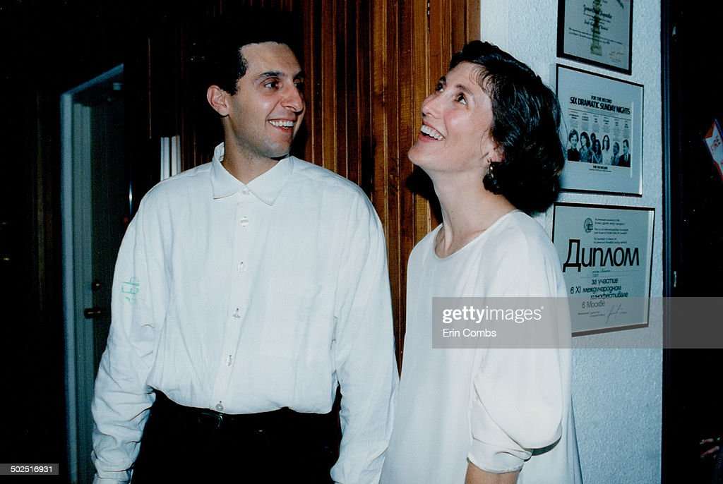 What a team: John Turturro; who directs and stars in Mac with his wife Katherine Borowitz; joined in : News Photo