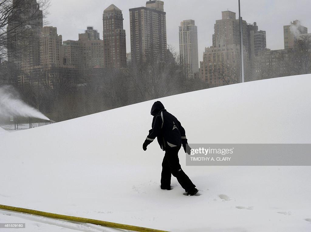 US-OFFBEAT-WINTER JAM CENTRAL PARK : News Photo