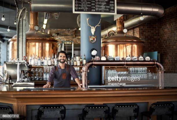 what can i get you from the bar? - rustic stock pictures, royalty-free photos & images